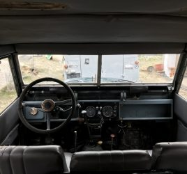 Land rover series 2 interior test drive